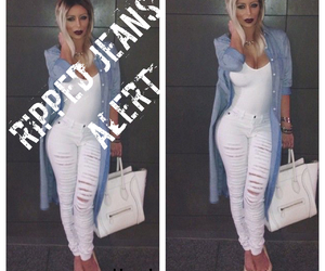 jeans, kylie jenner, and outfit image