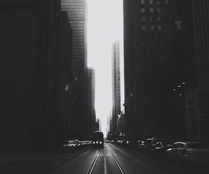 city, black, and black and white image