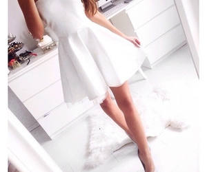dress, love, and heart image