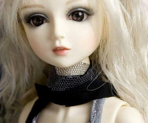 cute, love, and amazing doll image