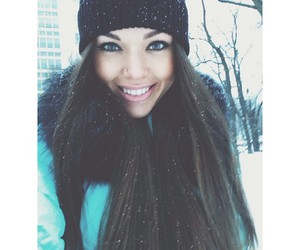 snow, winter, and beauty image