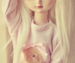 cute and amazing doll image