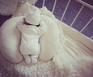 baby, sweety, and white image