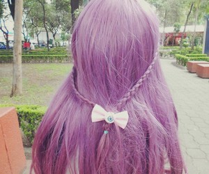 dyed, long hair, and lolita image
