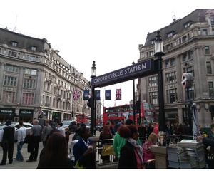 city, london, and Oxford street image