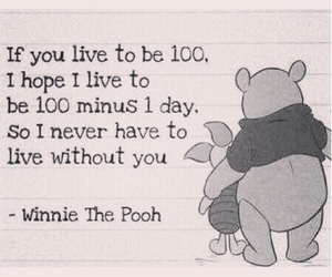 winnie the pooh, love, and quote image