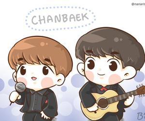 fanart, chanyeol, and baekhyun image