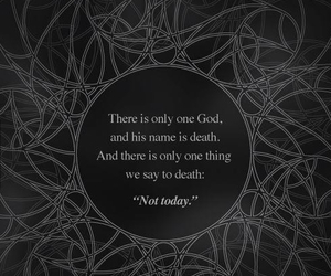 game of thrones, god, and death image