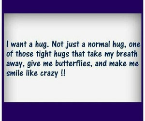 butterflies, hugs, and smiles image