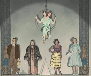 freak show, ahs, and american horror story image