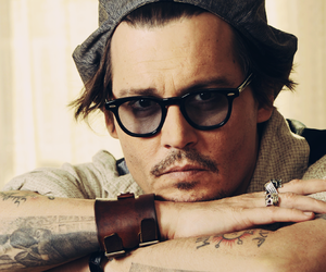 actor, american, and johnny depp image