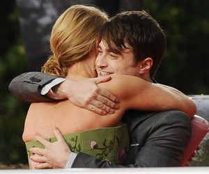 daniel radcliffe, harry potter, and jk rowling image