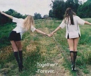 friend, together, and bestfriend image
