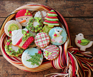 christmas, winter, and yummy image