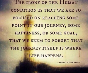 goal, happiness, and journey image