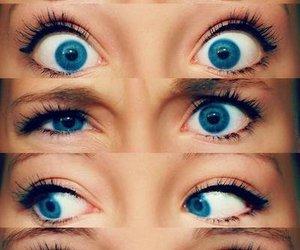 eyes and beautiful. blue image
