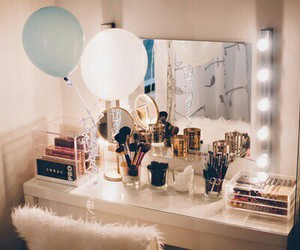 makeup, beauty, and mirror image