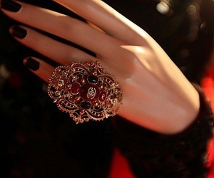 ring, chanel, and nails image