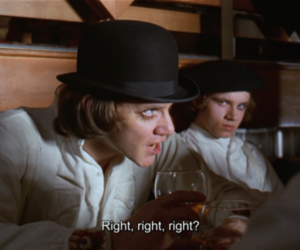 movie and clockwork orange image