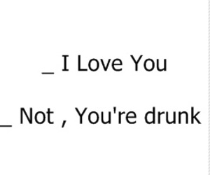 crazy, love, and drunk image