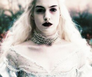 alice in wonderland, angry, and Anne Hathaway image