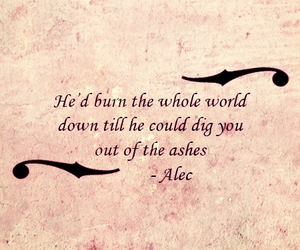 quotes, the mortal instruments, and love image