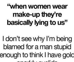 funny, make up, and men image