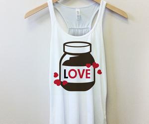 fashion, nutella, and love image