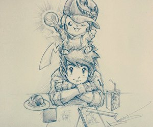 drawing, pokemon, and itsbirdy image
