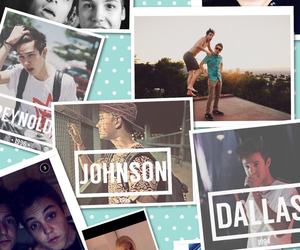 Collage and magcon boys image