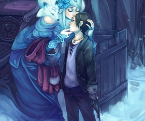snow queen and fairy tale image
