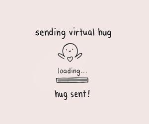 hug, love, and virtual image