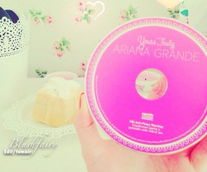 cd, pastel, and ariana grande image