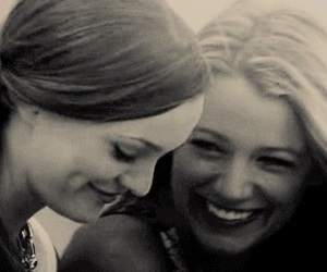 best friends, gossip girl, and blair and serena image