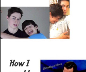 me, hayes grier, and meme image