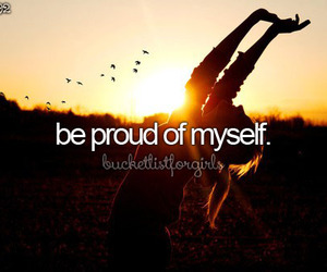 girl, proud, and goals image