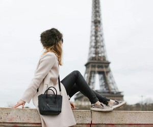 paris, fashion, and winter image
