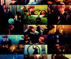 ron, rupert, and harry potter always image