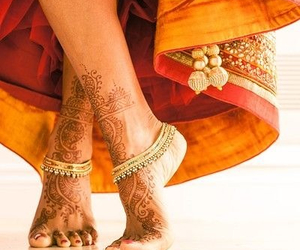 henna, india, and indian image