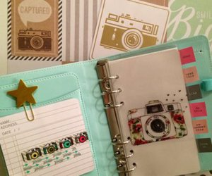 agenda, camera, and kate spade image