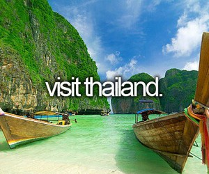 thailand, travel, and visit image