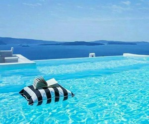 blue, summer, and Greece image