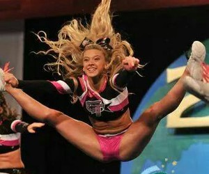 cheer, flexibility, and girl image