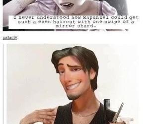 rapunzel, disney, and funny image