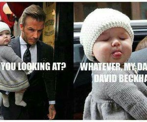 David Beckham, cute, and baby image