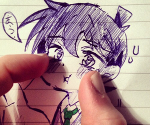 drawing, kawaii, and kudo shinichi image