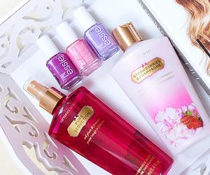 essie, Victoria's Secret, and pink image