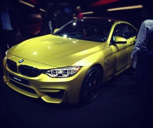 bmw and gold image