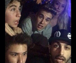 justin bieber, nash grier, and carter reynolds image