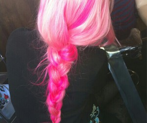 hair, pink, and girly image